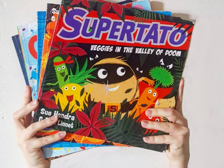 Children's Book Review: Supertato by Sue Hendra and Paul Linnet