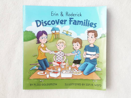 Children's Book Review: Discover Families by Fliss Goldsmith