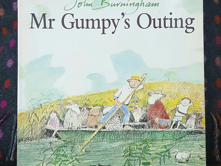 Children's Book Review: Mr Gumpy's Outing by John Burningham