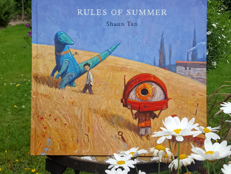 Children's Book Review: Rules of Summer By Shaun Tan