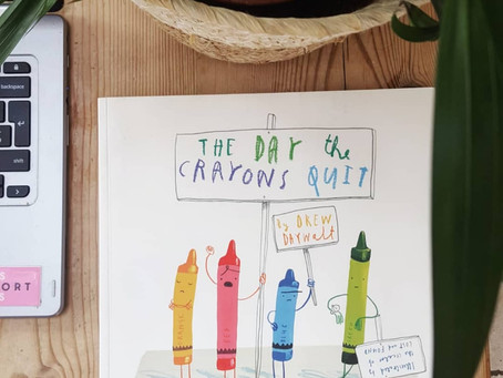 """Children's Book Review: """"The Day the Crayons Quit"""" by Drew Daywalt"""