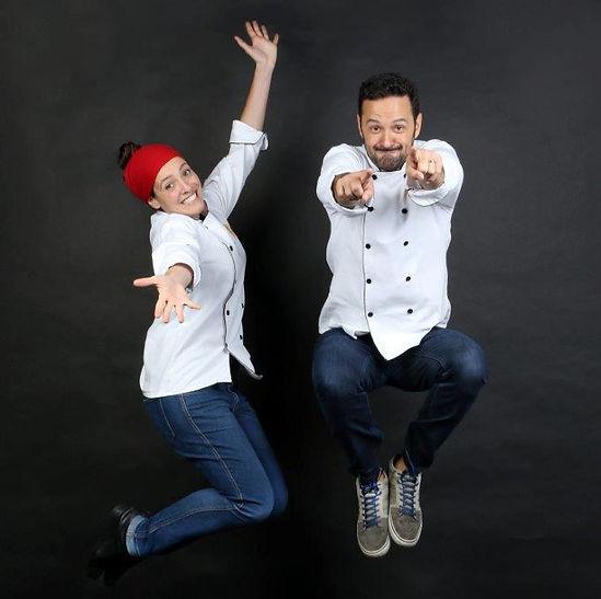 Chef Karina Zoca e Rodrigo Macedo