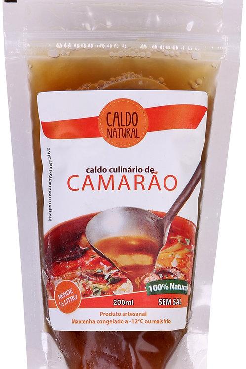 6 Caldos de Camarão - Congelado (só para cidade de São Paulo)