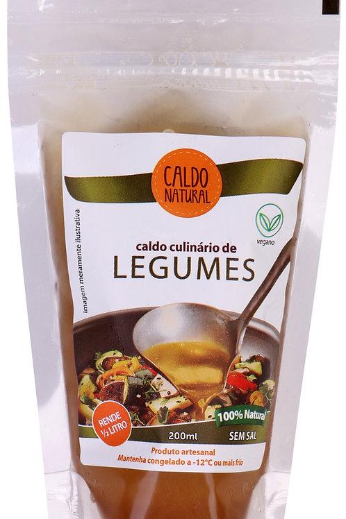 2 Caldos de Legumes - Congelado (só para cidade de São Paulo)