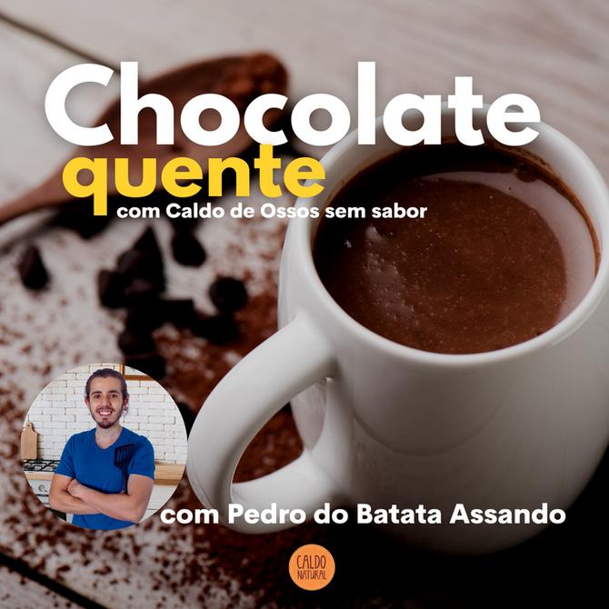 Chocolate Quente com Colágeno - Colab Batata Assando
