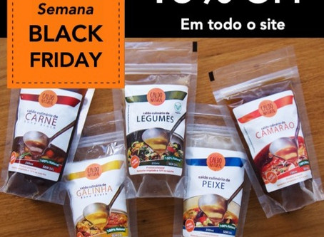 A semana Black Friday chegou!