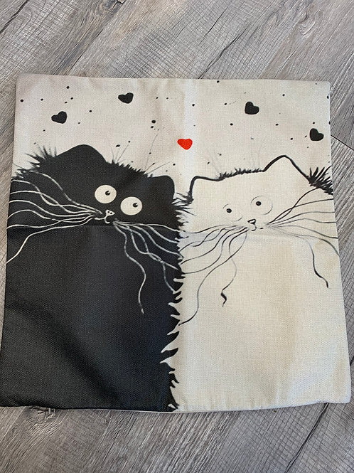 Cat Themed Pillowcases
