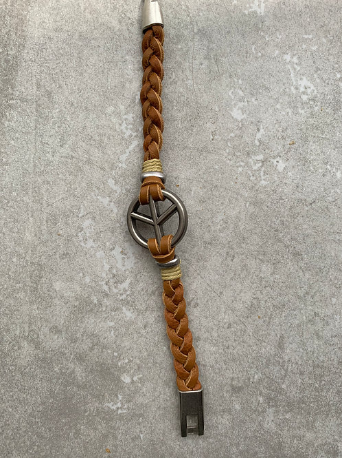 Men's Peace Bracelet