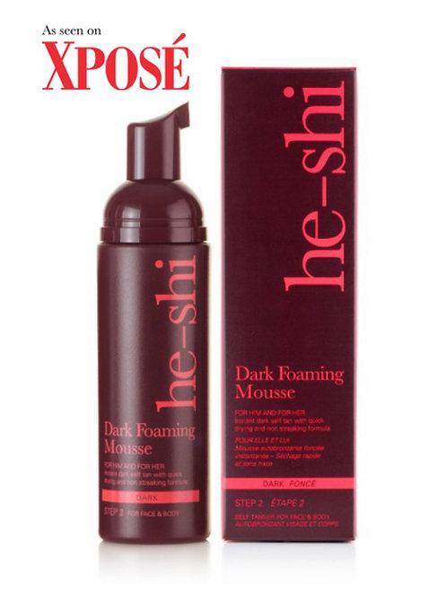 He-Shi Dark Foaming Mousse 150ml