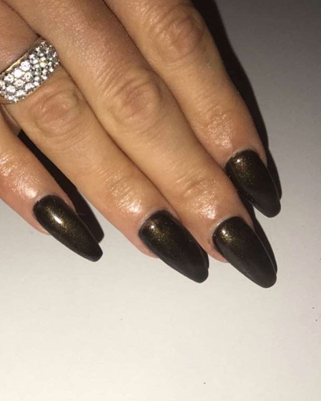 Acrylic Extensions _retro_beauty_noleen #astonishingnails #lechat #perfectmatchgelpolish