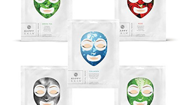 Happy Skin Facial Mask - Green Tea