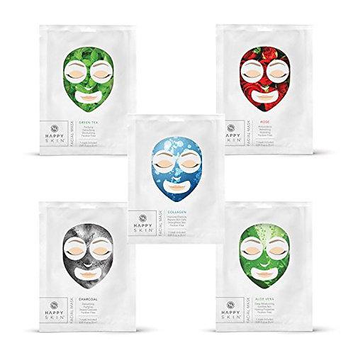 Happy Skin Facial Mask - Charcoal