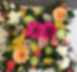 Cushion loose style bright garden funera