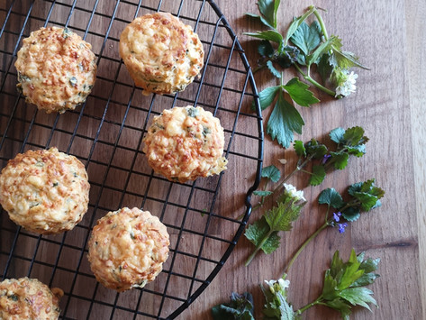 Wild and Herby Cheddar Scones