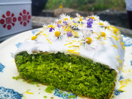 Nettle and Lemon cake