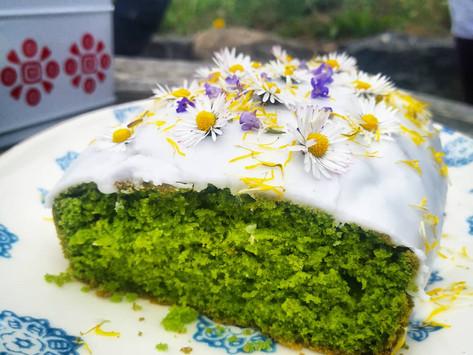 Nettle and Lemon cake