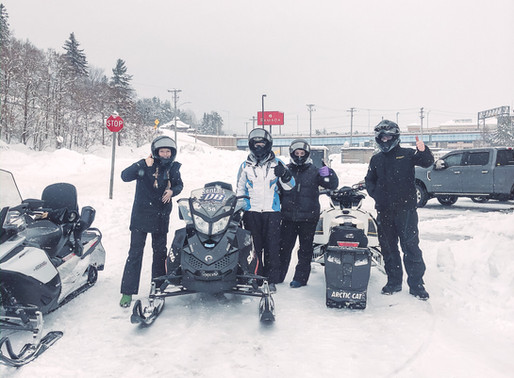 Where to go snowmobiling when there is no snow
