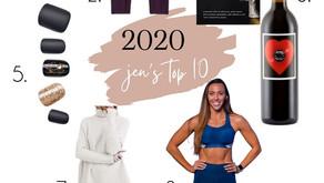 Jen & Elsa's top 10 from 2020