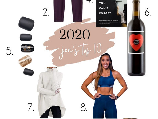 Jen & Elsa's top 10 from 2020
