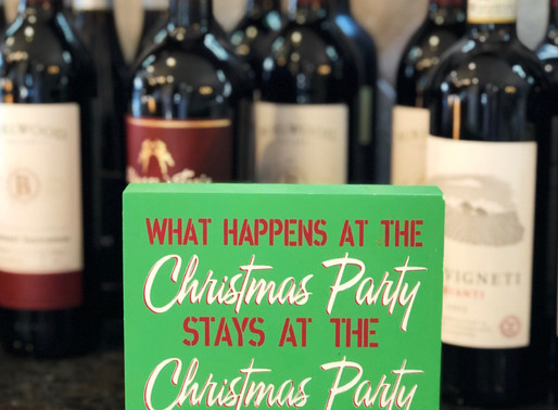 How to throw a no stress holiday party + first week of college finals