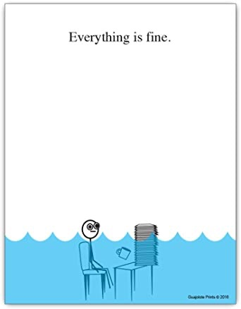 Everything is fine notepad