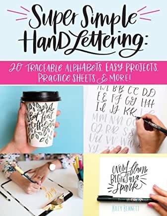 Hand lettering 101 journal