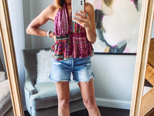 Favorite denim shorts + you don't want to miss this major sale (no it's not Nordstrom lol)