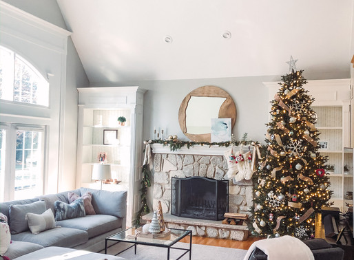 Family Room Transformation + what Elsa is doing over winter break