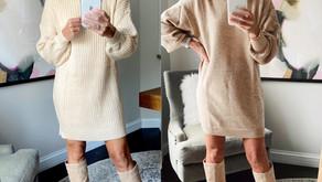 6 ways to style a sweater dress