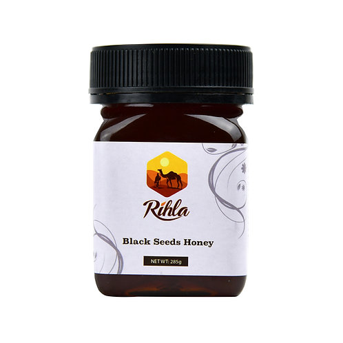 Black Seeds Honey