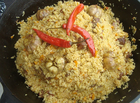 Let's Cook with <3 Today: Veggie Pilaf