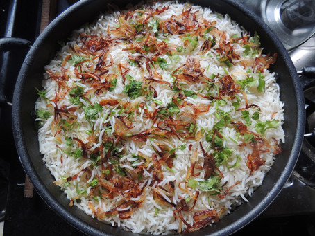 Let's Cook with <3 Today: Chicken Biryani