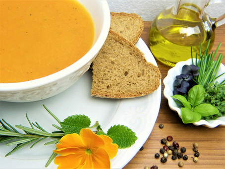 Let's Cook with <3 Today: Energizing Carrot-Ginger Soup