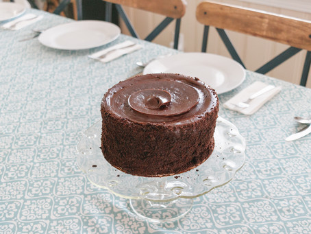 Flourless Chocolate Cake with Almond Meal