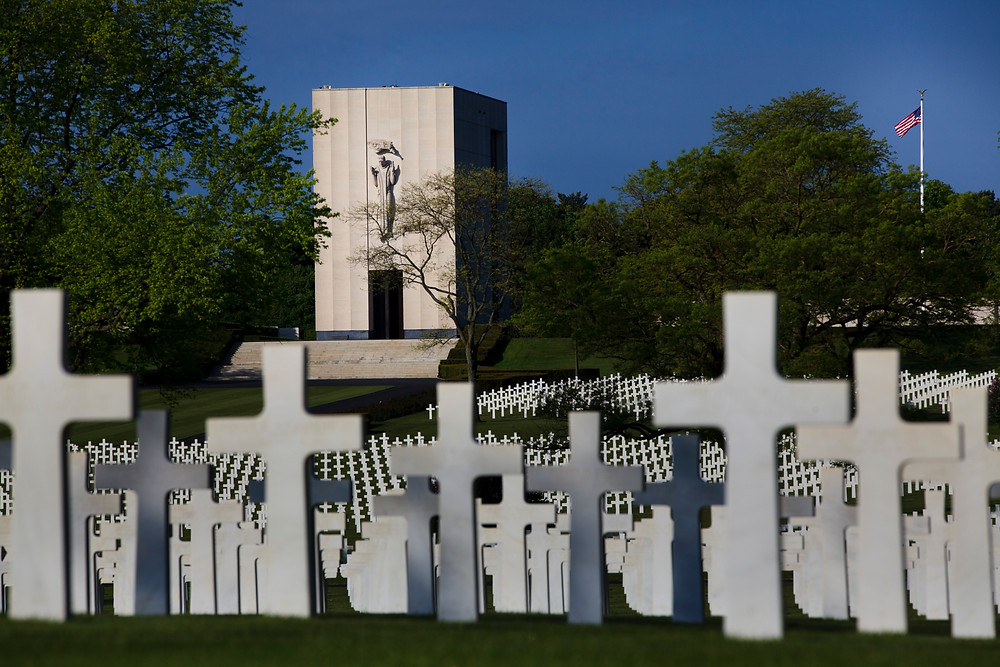 Lorraine American Cemetery and Memorial in Saint-Avold, Departement de la Moselle, Lorraine, France