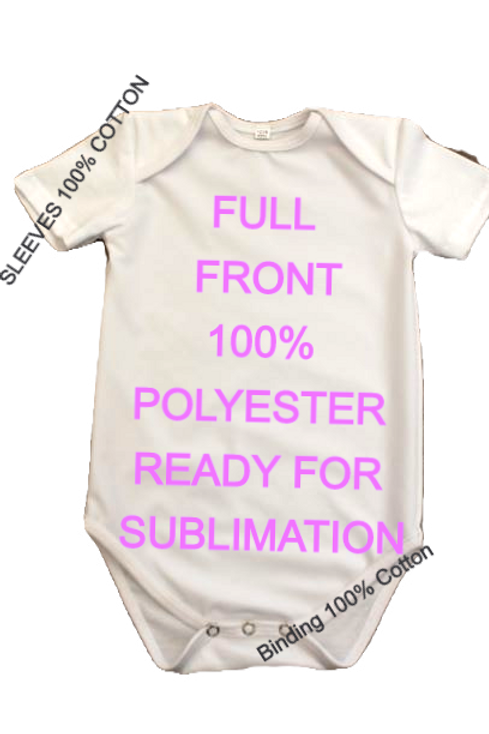 SUBLIMATION BABY ONESIE