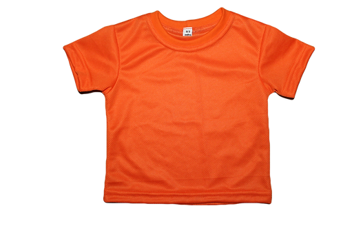 BABY T SHIRT  100% POLYESTER