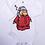 Thumbnail: Sleepy Penguin Printed Baby Onesie Long Sleeve