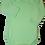 Thumbnail: 100% Cotton Baby Onesie Mint Long Sleeve