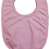 Thumbnail: BIBS 100% COTTON PINK WITH FLOWERS