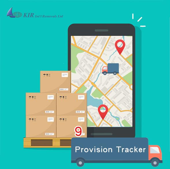 International moving company Hong Kong: Shipment Tracking