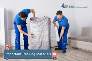 Relocation Services: Packing Materials