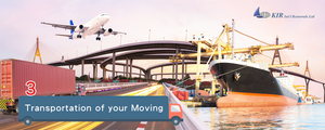 Relocation Services: What means will be used to ship my belongings?