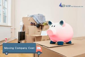 Hong Kong Moving company cost