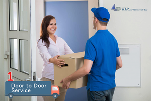 Will the international moving company offer door to door service?