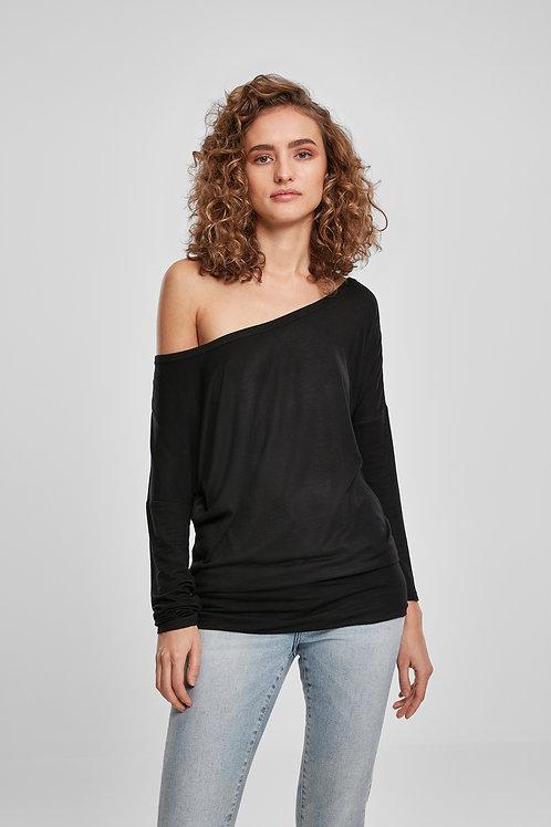 T-Shirt Donna Manica Lunga Viscosa