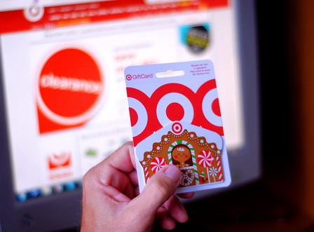 Gift card Target sample