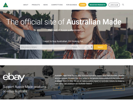 EBay launches 'Australian Made' section as consumers flock to support local businesses