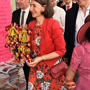 Chinese New Year Festival - Sydney - with NSW Premier Gladys Berejiklian