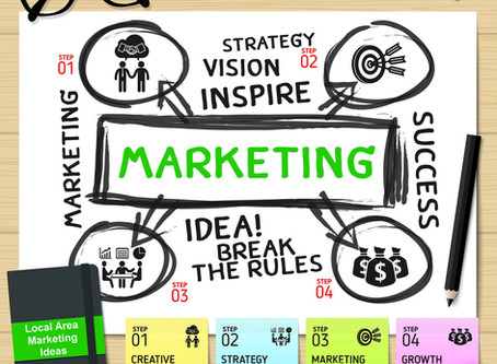 Small business marketing - taking the first steps without tripping over  your wallet